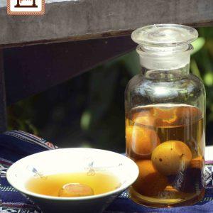Rượu táo mèo Pao Quán