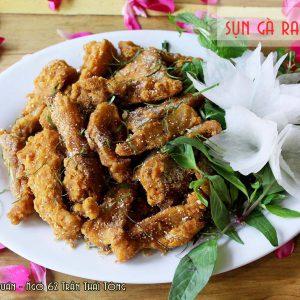 Sụn gà rang muối Pao Quán