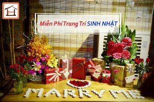 Tưng bừng khuyến mại cho khách hàng tổ chức sinh nhật tại Pao Quán