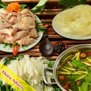 Lẩu gà quê nấm thiên nhiên Pao Quán